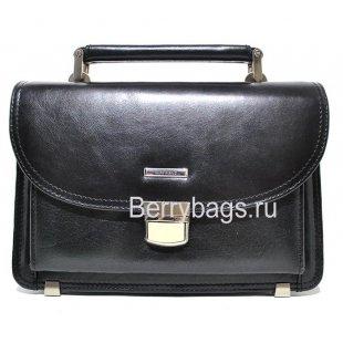 Кожаная деловая барсетка для документов мужская элитная Rockfeld 007010 RIFF BERG