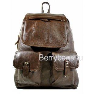 Рюкзак кожаный коричневый Urbant MF16255-09