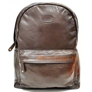 Кожаный рюкзак Z 38-09-CHOCOLATE