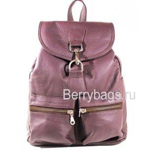 Городской кожаный рюкзак Z 45-01-Bardo