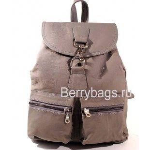Рюкзак городской кожаный Z 45-03 -Dark Grey