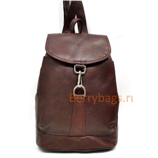 Небольшой городской кожаный рюкзак Z 57-013-KARREN