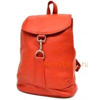 Небольшой городской кожаный рюкзак Z 57-12-DRAGONA