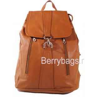 Рюкзак кожаный Z-24-03 Mr.brown