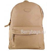 Кожаный рюкзак городского типа Z-38-01- Beige Light