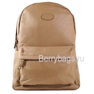 Кожаный рюкзак городского типа Z-38-01- Beige