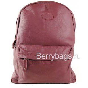 Кожаный рюкзак городского типа Z-38-01-Bordo