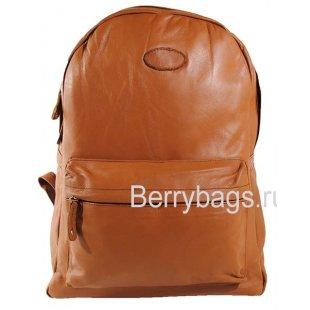 Кожаный рюкзак городского типа Z-38-01-Light Brown