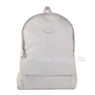 Городской рюкзак кожаный белый Z39 Winter white