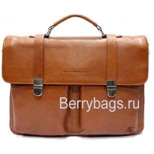 Портфель классический кожаный Zegnai 018425 -Rallentando