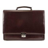 Портфель мужской кожаный деловой AB 117979-Goffer