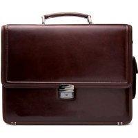 Портфель мужской кожаный классический AB 117983 Actual