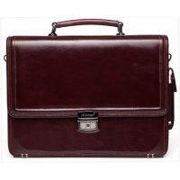 Портфель мужской кожаный коричневый AB 117993-Chester