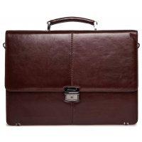 Кожаный портфель для документов коричневый AB 117996-Rockport