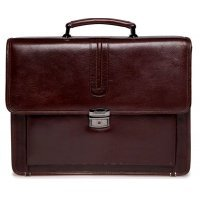 Деловой портфель мужской кожаный AB 117997-Royal