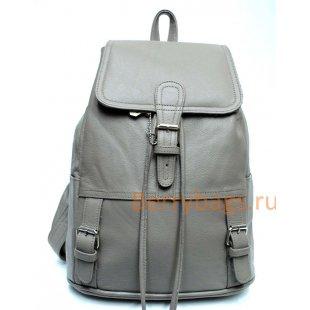 Рюкзак кожаный BB39265-01 Aracul Grey