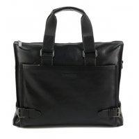 Деловая мужская сумка для документов из натуральной кожи Bristan Wero 119473