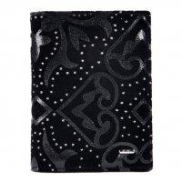 Обложка для паспорта замша черная Bristan Wero 119613