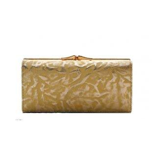 Кошелек женский кожаный золотой Bristan Wero 119660