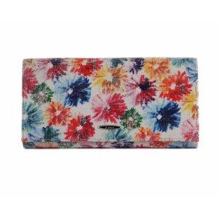 Женский разноцветный кошелек кожаный Bristan Wero 122006