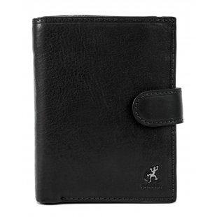 Портмоне с паспортом и автодокументами итальянская кожа Cosset 118864 Black
