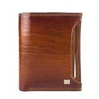 Маленькое портмоне с визитницей мужское натуральная кожа Cosset 119111