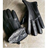 Перчатки мужские кожаные зимние Gloves 122138 Livel Snow