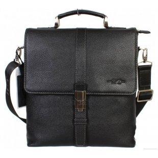 Мужская сумка через плечо с ручкой кожаная Hight-Touch-117704