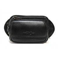 Мужская кожаная поясная сумка Hight Touch 117796