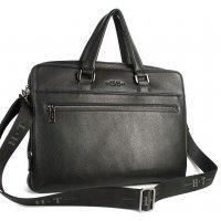 Большая кожаная сумка мужская для ноутбука и документов Hight Touch 119035 Comissor