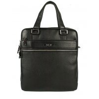 Мужская сумка вертикальная А4 кожаная Hight Touch 119048 Expert