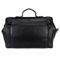 Дорожная сумка-саквояж мужская кожаная Hight Touch 119419