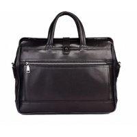 Стильная сумка-саквояж из натуральной кожи Hight Touch 119439