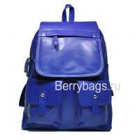 Рюкзак кожаный синий jerby 569338-Run
