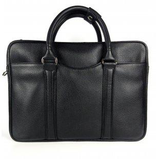 Мужская деловая сумка из кожи с одним отделом Taurus M-21-03