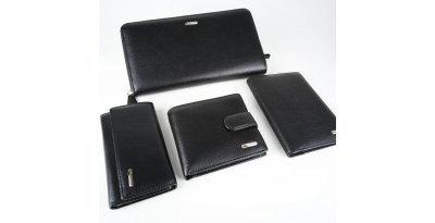 Мужской подарочный набор из 4-х кожаных аксессуаров в коробке Marco Santori 119306 MS 004