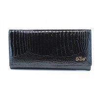 Кошелек женский классический лакированный Moro&Jenny-117974 Black
