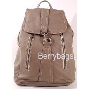 Рюкзак кожаный  z-24 Beige Monique
